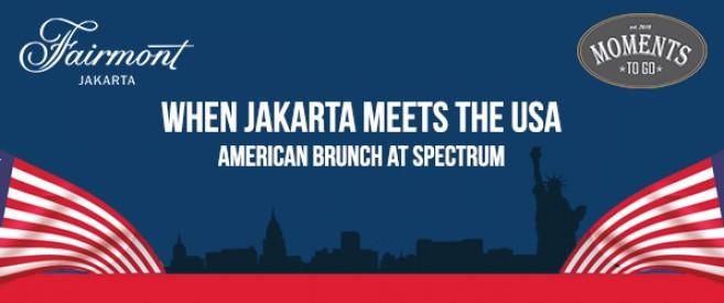 Fairmont Hotel Jakarta 'When Jakarta Meets The USA'
