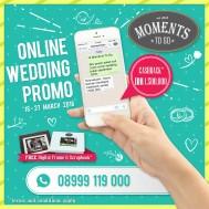 Online Wedding Promo